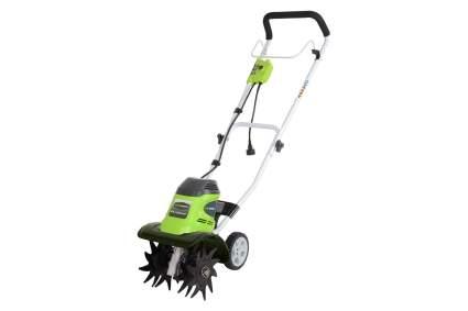 GreenWorks 27072 10-Inch Electric Tiller