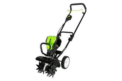 Greenworks Pro 80V 10-Inch Cordless Tiller Cultivator