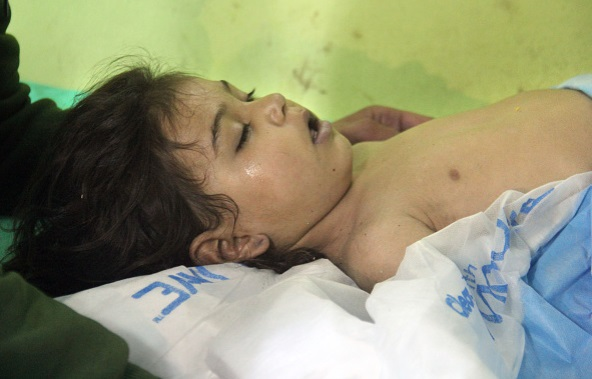 idlib attack, syrian attack, syrian chemical attack photo