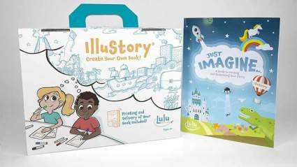 illustory book making kit