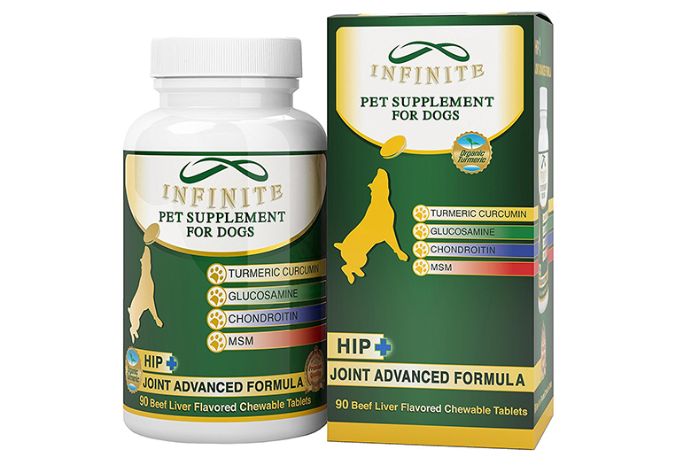 Image of infinite pet supplements hip and joint supplement for dogs