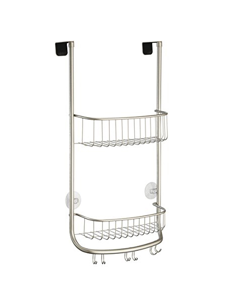 shower caddy, bath caddy, over door caddy