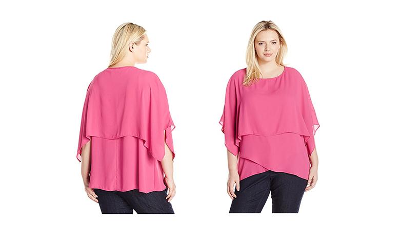 plus size tops, plus size shirts, plus size blouses, Karen Kane