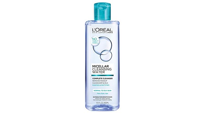 L'Oreal Paris micellar water for oily skin