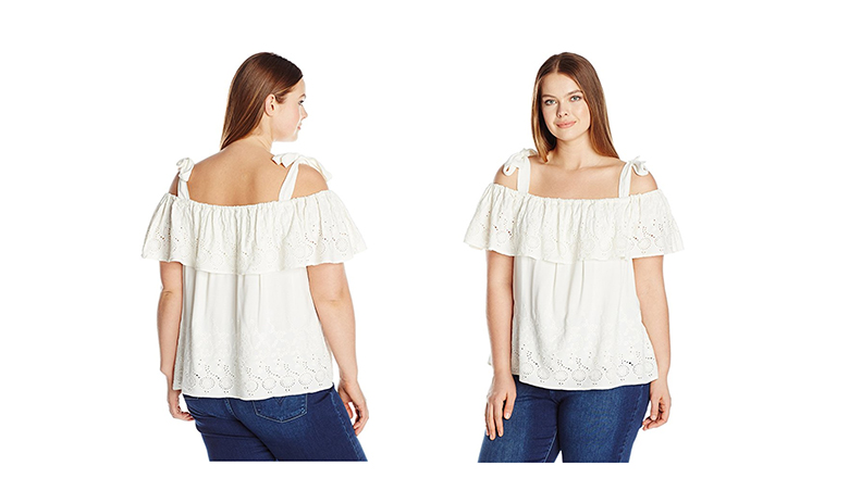 plus size tops, plus size shirts, plus size blouses, Lucky Brand