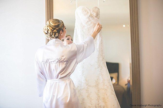 bridesmaids robes, bridal robe, bride robe, bridal party robe