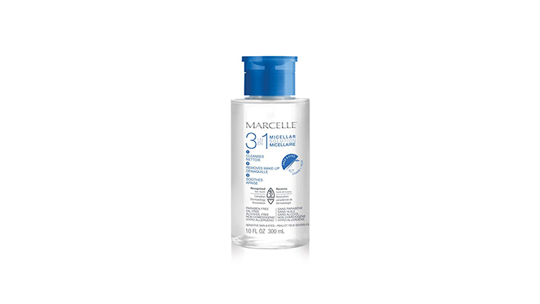 marcelle micellar cleansing water