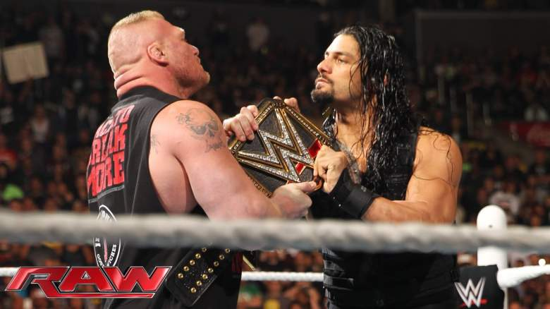 Roman Reigns Brock Lesnar, Roman Reigns Brock Lesnar title, Roman Reigns Brock Lesnar championship belt