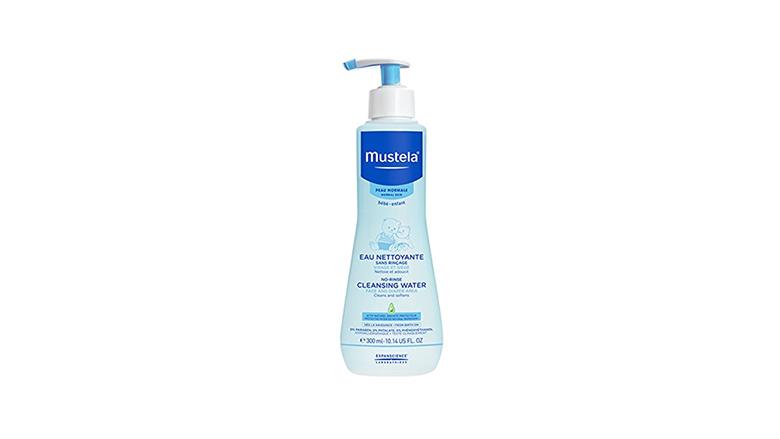 mustela no rinse micellar water