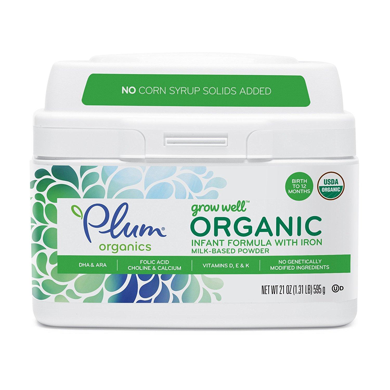plum organics infant formula, best infant formula