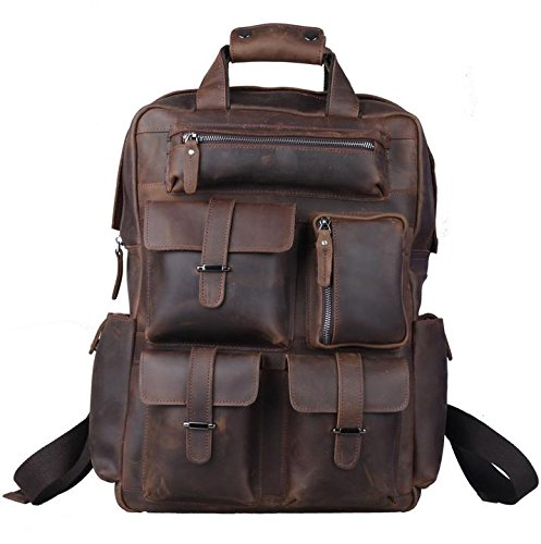 Polare Leather Backpack, best leather camera bags, leather bags for camera, leather camera backpack