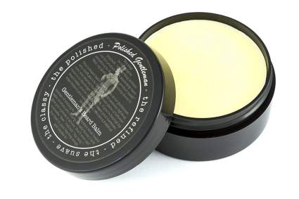 Polished Gentleman Beard and Mustache Balm