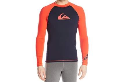 mens swim shirt, mens rash guard