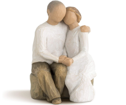 Willow Tree Anniversary, Sculpted Hand-Painted Figure