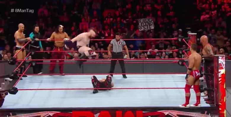 Monday Night Raw led, Monday Night Raw match, Monday Night Raw led posts