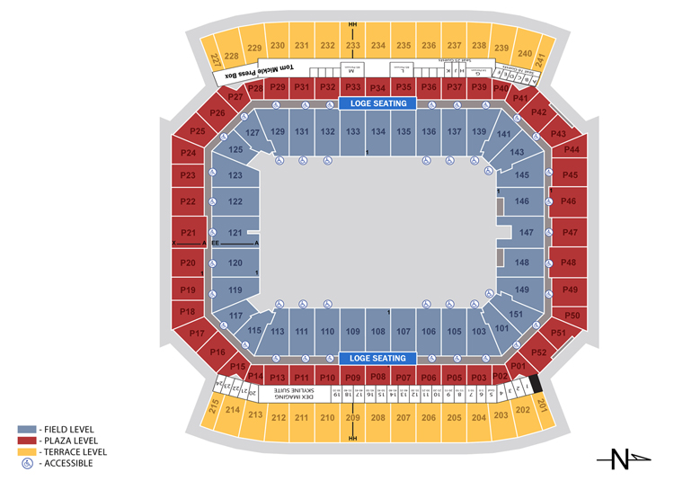 WrestleMania Seating Chart, camping world stadium seating chart, camping world stadium seats