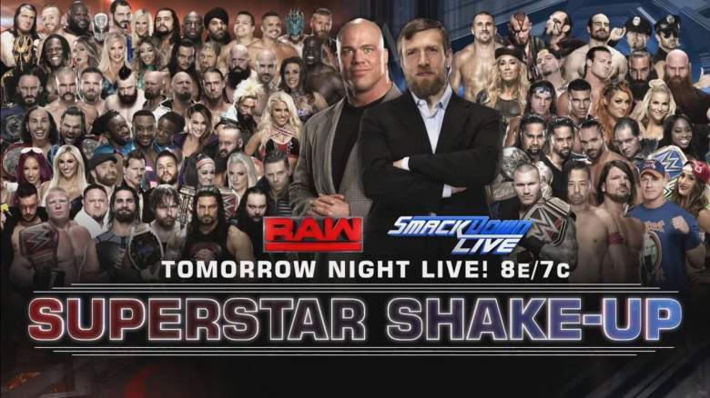WWE Shake Up, WWE Shake Up 2017, wwe new smackdown raw roster