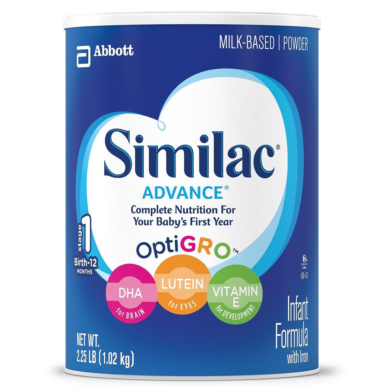 similac advance infant formula, best infant formula