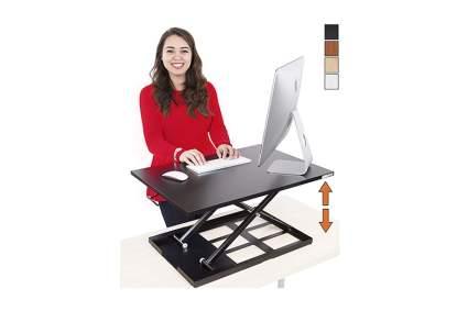 desktop adjustable standing desk