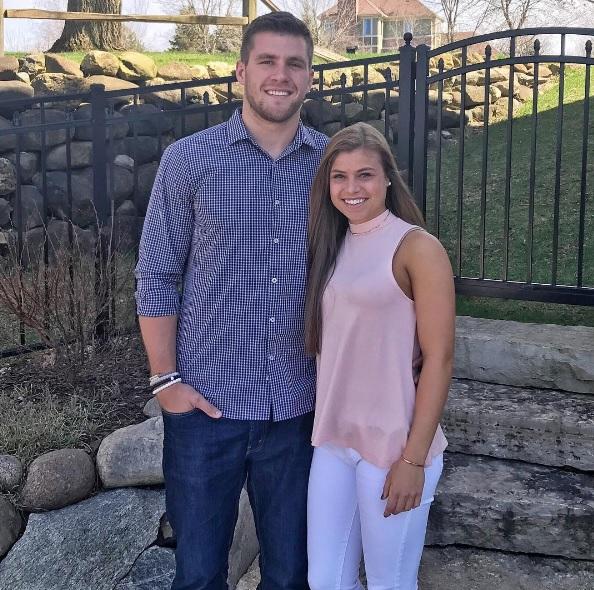 TJ Watt girlfriend, Dani Rhodes Wisconsin, TJ Watt Instagram, Dani Rhodes