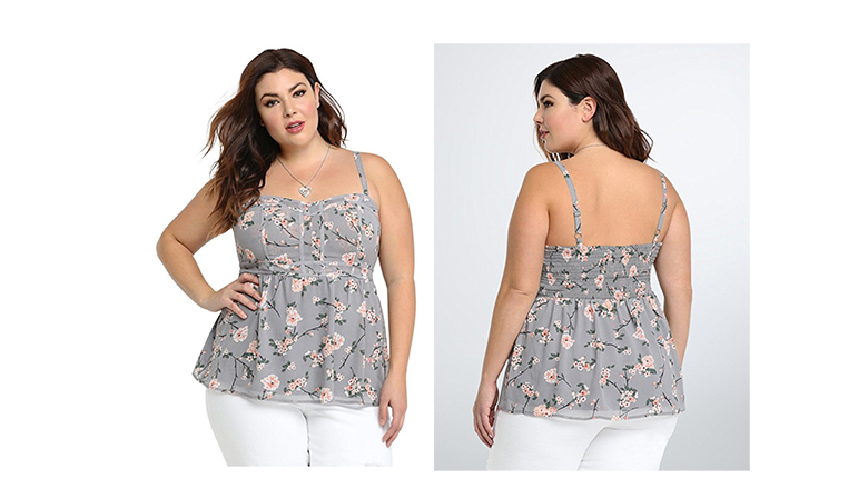 plus size tops, plus size shirts, plus size tank tops, plus size camisoles, torrid