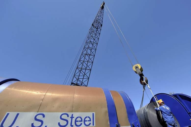 U.S. Steel, X, stock, steel