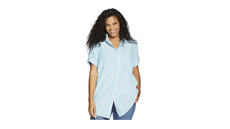 plus size tops, plus size shirts, plus size blouses, woman within