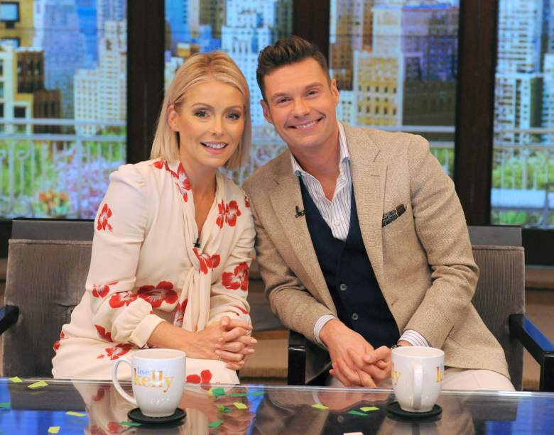 Kelly Ripa and Ryan Seacrest on Live