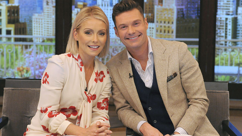 Kelly Ripa and Ryan Seacrest are Live! co-hosts