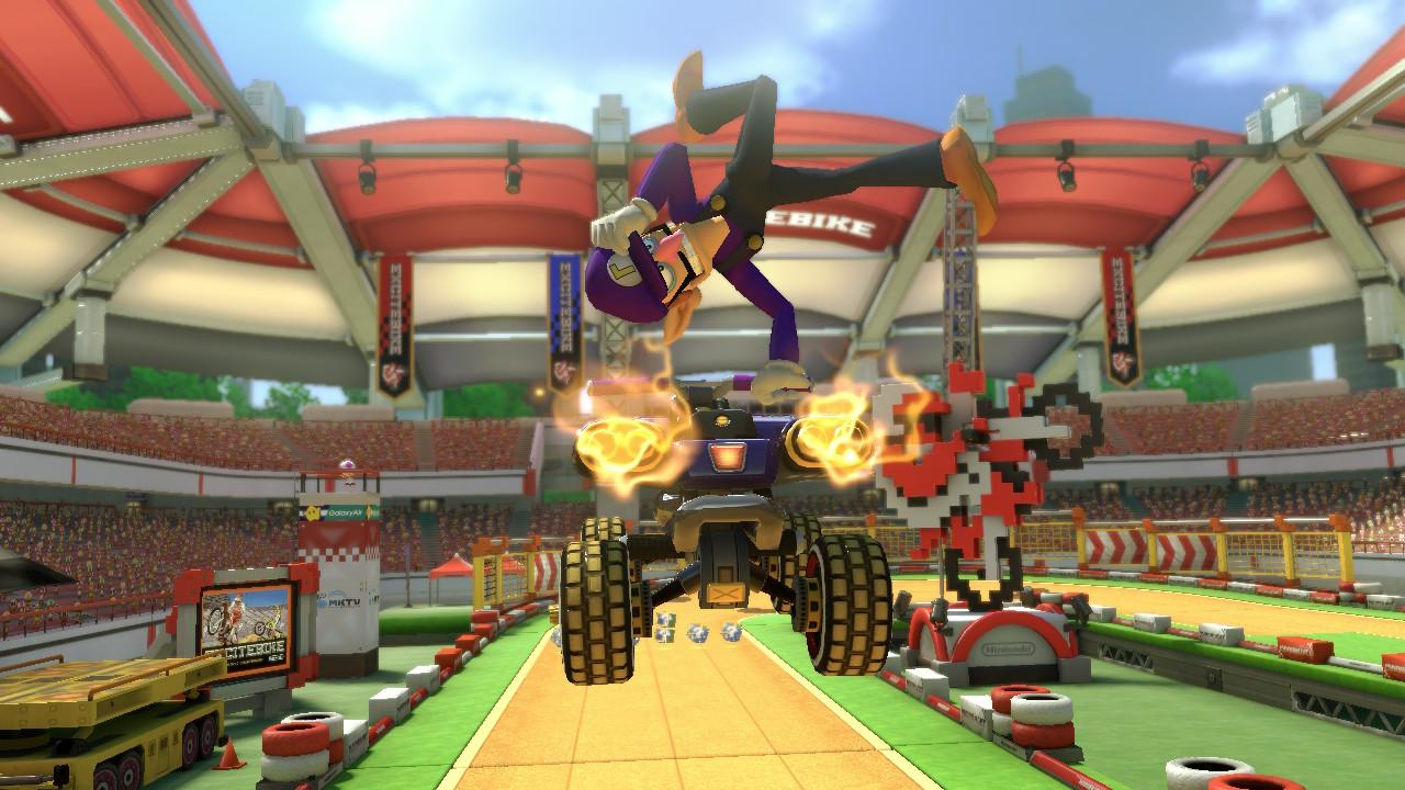 Mario Kart 8 Deluxe, Tips, Screenshot