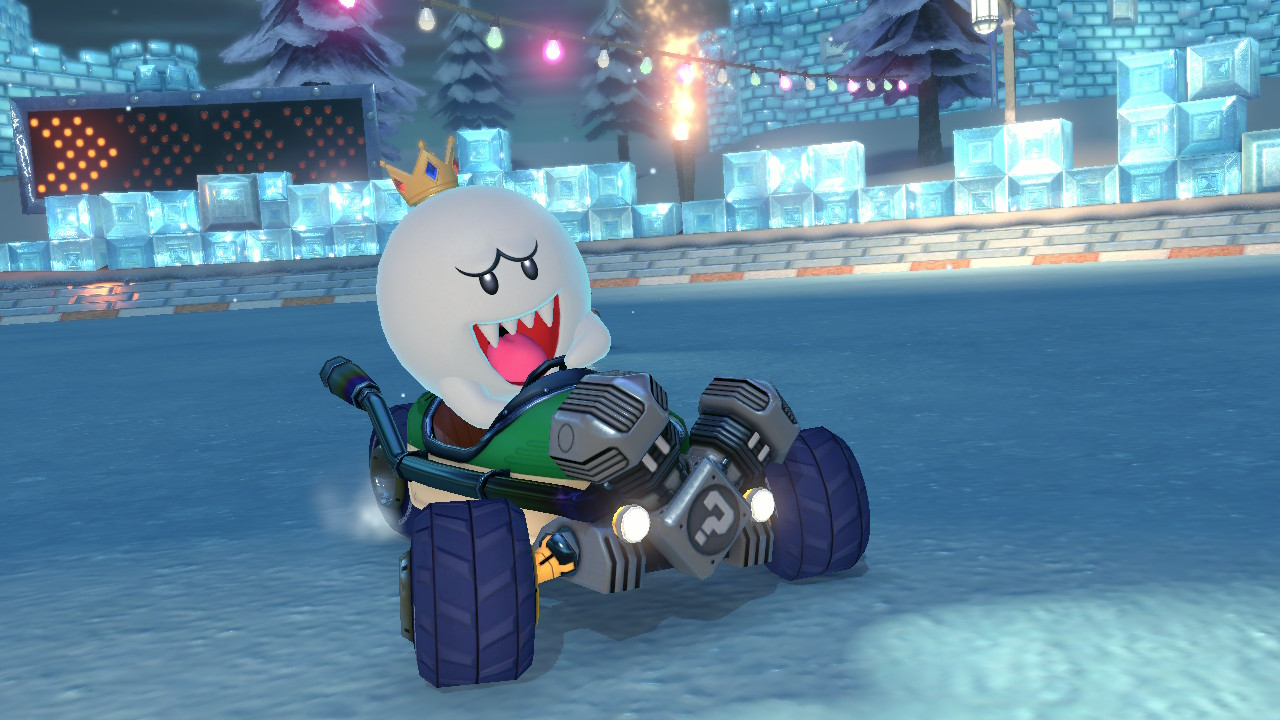 Mario Kart 8 Deluxe, Tips, Screenshot
