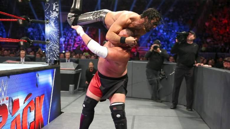Seth Rollins Samoa Joe, Seth Rollins Samoa Joe payback, Seth Rollins Samoa Joe match