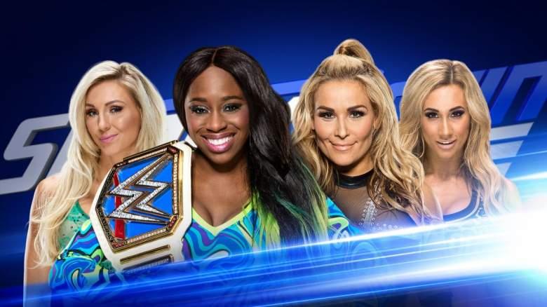 Charlotte Naomi wwe, wwe Charlotte Naomi tag team, wwe Charlotte Naomi carmella natalya
