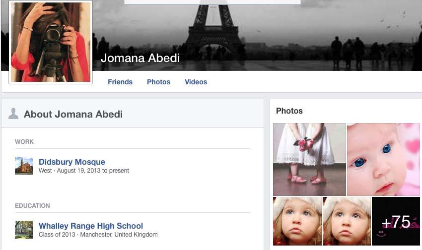 Jomana Facebook page