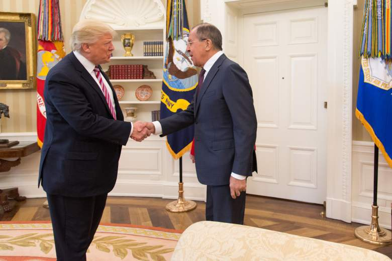 Donald Trump Sergei Lavrov, Donald Trump Russia, Donald Trump leaks