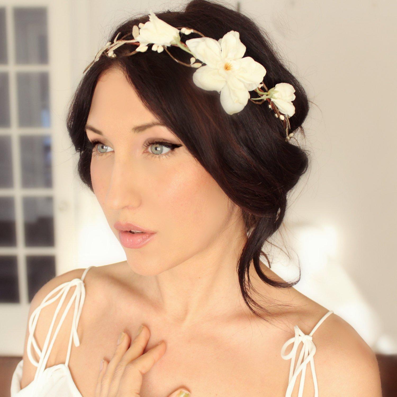 flower crown, bridal headpieces, flower headbands, bridal flower crown