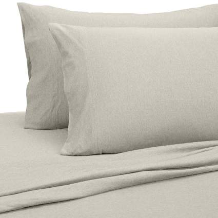 best sheets, softest sheets, best sheets to buy, heather jersey sheets
