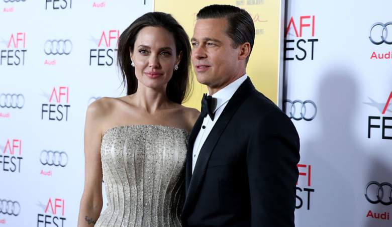 Angelina Jolie and Brad Pitt at the 'By The Sea' premiere