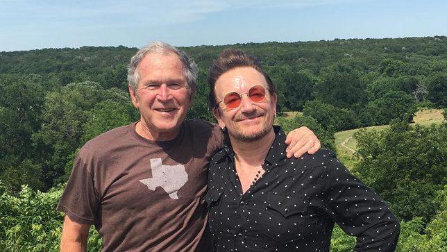 bush bono, george bush bono