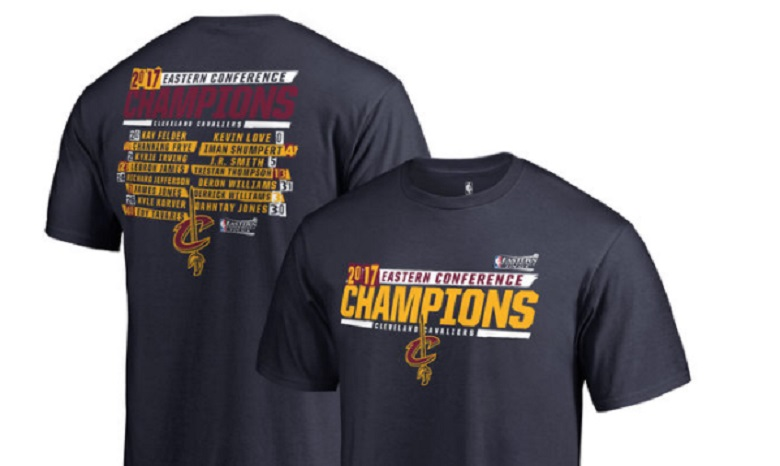 cavaliers cavs 2017 nba eastern conference champions finals bound gear apparel shirts hats hoodies