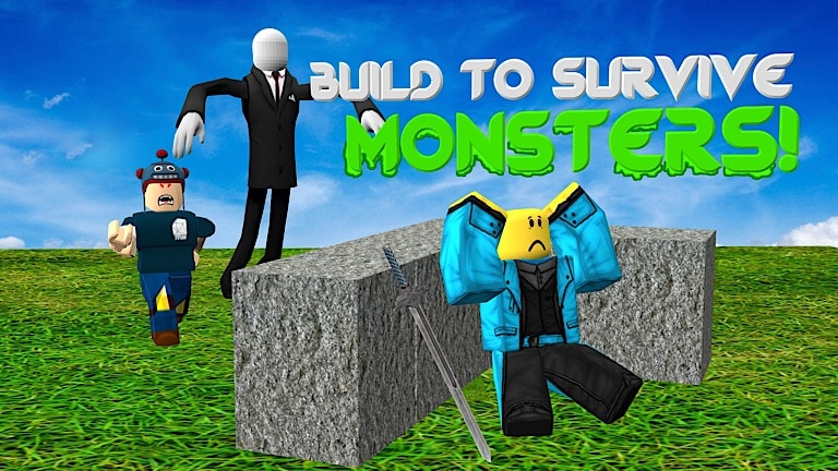 Games Page Studios roblox, roblox build to survive monsters, build to survive monsters roblox game