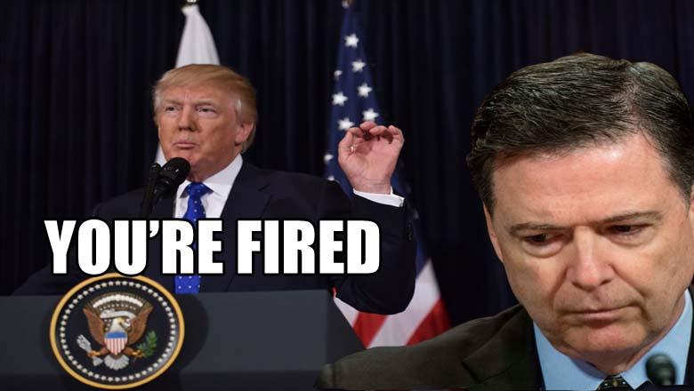 trump fires comey memes