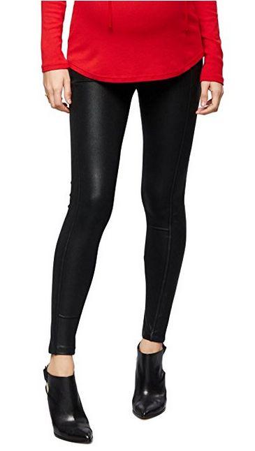 david lerner faux leather maternity leggings, faux leather maternity leggings, maternity leggings, best maternity leggings