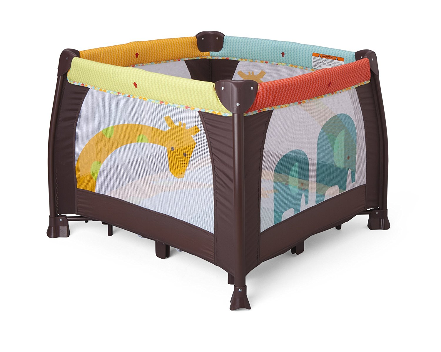 delta children playard, zoo animals playard, best playpen for babies, playben for babies, baby play yard