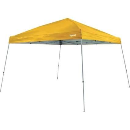 ez up, canopy, camping, camping essentials, quest