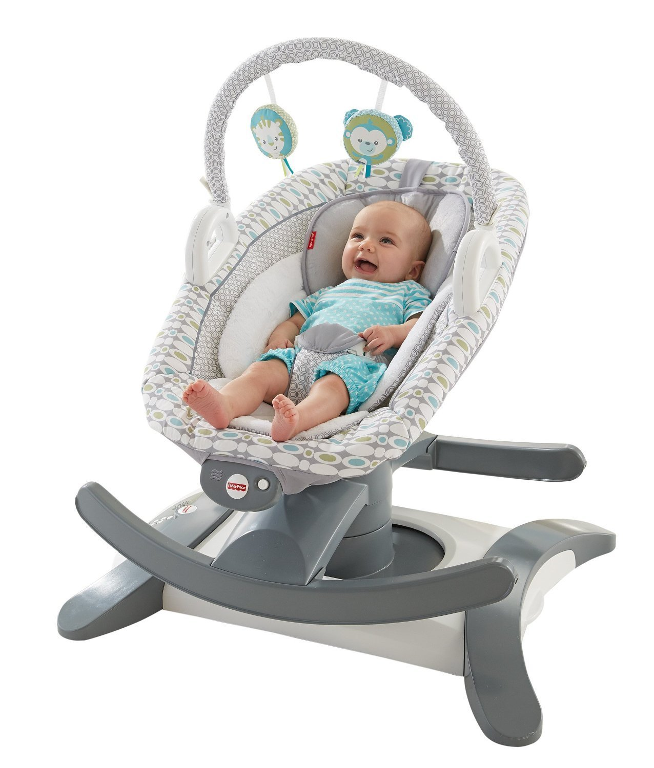 fisher-price 4-in-1 rock 'n glide soother, best baby swing