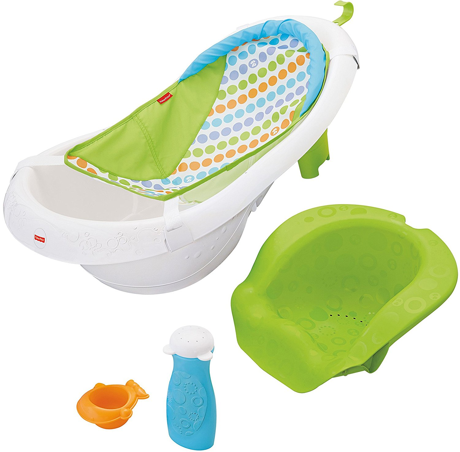 fisher-price 4-in-1 sling n seat tub, best infant tubs, infant tubs, convertible tubs, toddler tubs, best toddler tubs