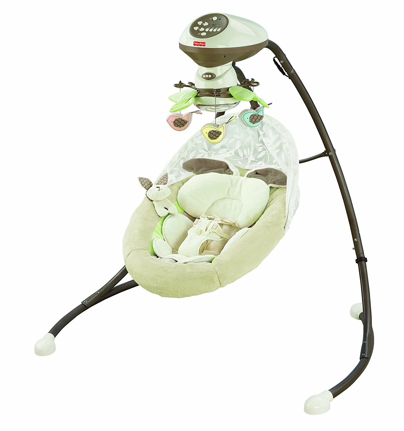 fisher-price snugabunny cradle & swing, best baby swing