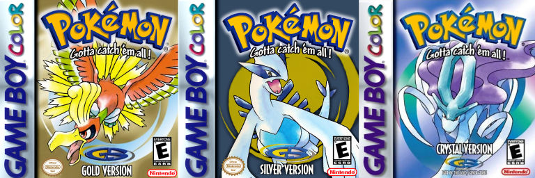 Pokemon Gold, Silver, Crystal