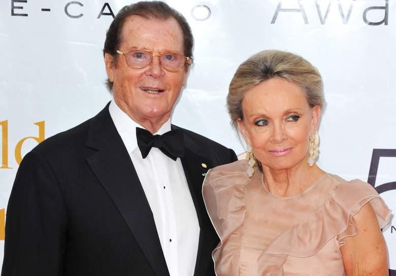 Kristina Tholstrup Roger Moore, Kristina Tholstrup Roger Moore wife, Roger Moore wife